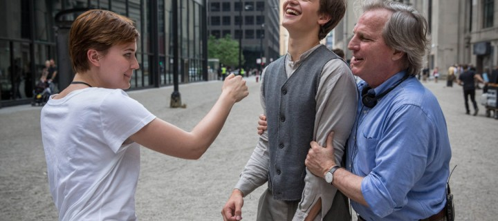10 NEW Never-Before-Seen Stills of Shailene Woodley & Ansel Elgort on the set of Divergent.