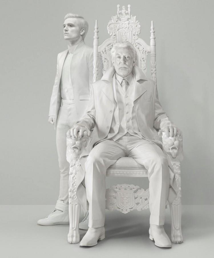Peeta and president snow