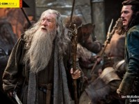 New The Hobbit : The Battle of the Five Armies Still Featuring Gandalf and Bard