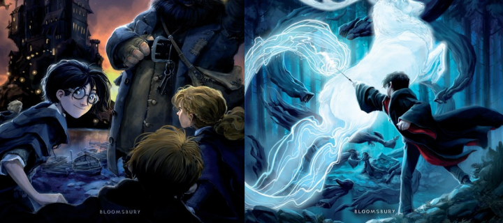 Harry Potter Book Cover Hd : New uk only harry potter book covers revealed