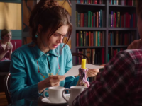 "Check Out Lily Collins & Sam Claflin in ""Love, Rosie"" Trailer!"