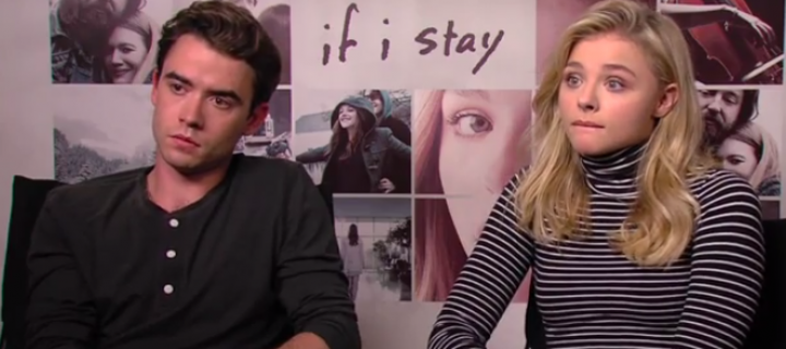 Chloë Moretz and Jamie Blackley Talk 'If I Stay' With Screen Slam