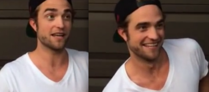 Robert Pattinson Does the ALS Ice Bucket Challenge!