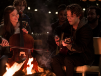'If I Stay' Movie Clip: Juilliard Ceiling Scene With Mia and Adam