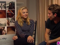 Chloë Moretz & Jamie Blackley Talk 'If I Stay,'  Flip-flops, Mozzarella Cheese, and More With 103.5 KISS FM