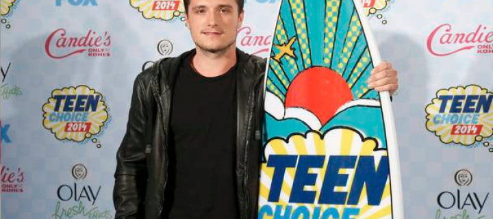 Josh Hutcherson Talks 'The Hunger Games' Backstage at the Teen Choice Awards