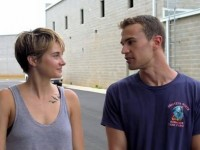 Message from 'Insurgent' Set from Theo James and Shailene Woodley
