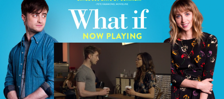 Daniel Radcliffe Promotes 'What If' in Funny Skit With YouTuber Anna Akana