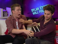 Maze Runner Stars Dylan O'Brien & Will Poulter Talk Bromances & Auditions!