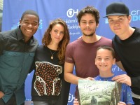 'The Maze Runner' Cast Interviewed At Seacrest Studios