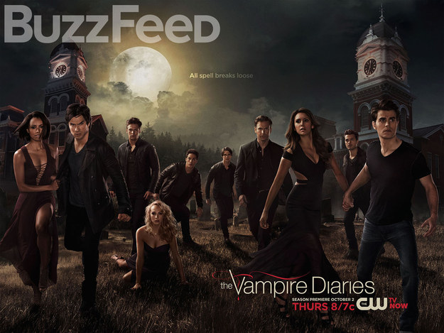 The Vampire Diaries Season 6 Poster