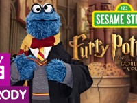 "Sesame Street Spoofs Harry Potter in ""Furry Potter and The Goblet of Cookies"""