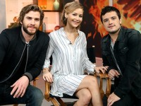 Good Morning America Interview with Jennifer Lawrence, Josh Hutcherson, and Liam Hemsworth