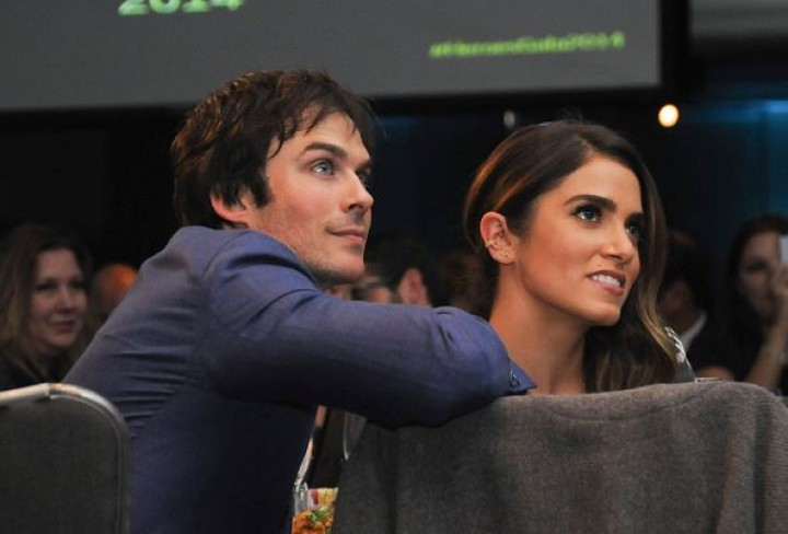 Ian Somerhalder and Nikki Reed at the Unlikely Heroes' 3rd Annual Awards Dinner