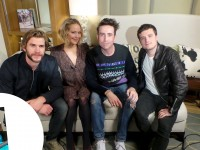 Jennifer Lawrence, Josh Hutcherson, and Liam Hemsworth Talk 'Mockingjay Part 1' With Nick Grimshaw