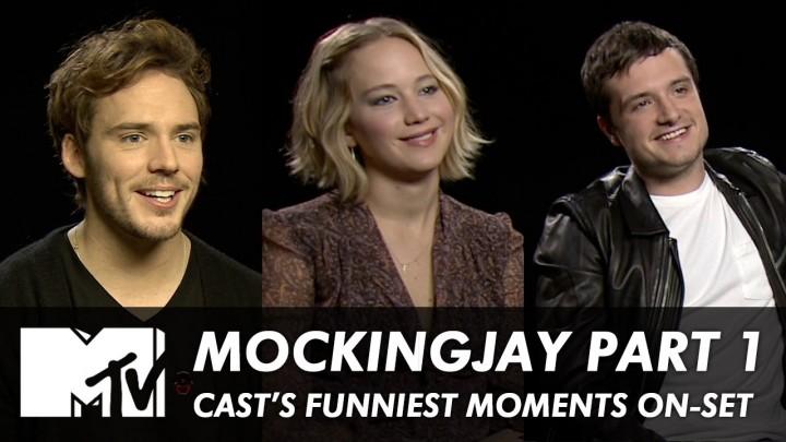 Funny 'Mockingjay Part 1' on Set Moments!