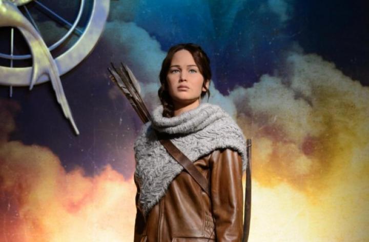 Madame Tussauds Premieres Katniss Everdeen Wax Figures in NYC and LA!