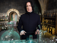 J.K. Rowling Crushes Severus Snape Vampire Rumor