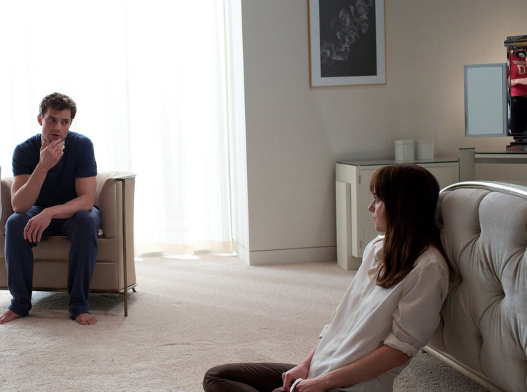 Which infamous scene won t make the fifty shades of grey for 50 shades of grey films