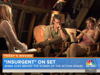 """""""Insurgent"""" On Set Cast Interviews and Behind The Scenes Footage!"""