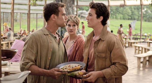 Tris, Four, Peter -  Insurgent movie