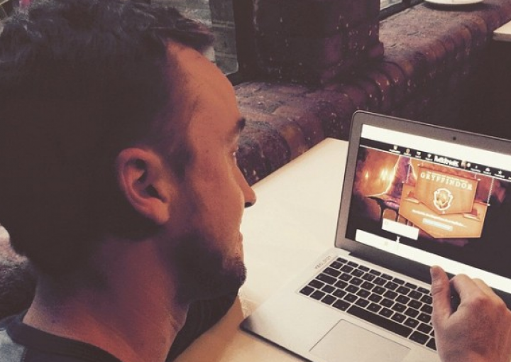 Tom Felton Joined Pottermore and Was Sorted into . . . Gryffindor?