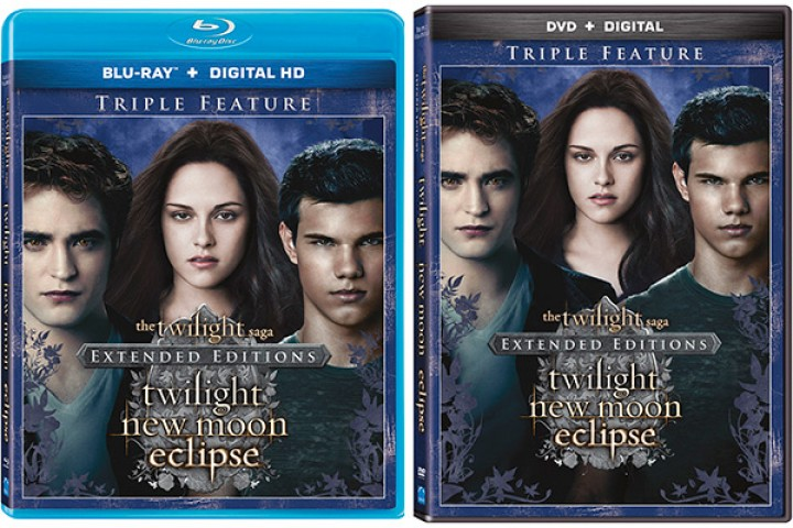 "Extended Editions of ""Twilight,"" ""New Moon,"" and ""Eclipse"" Now Available!"