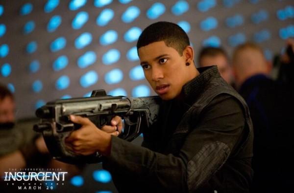 Keiynan Lonsdale as Uriah in 'Insurgent'