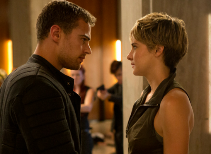 divergent tris and four relationship stages