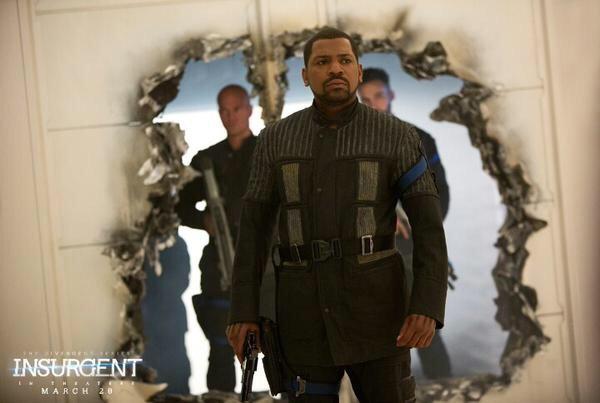 Mekhi Phifer as Max in 'Insurgent'