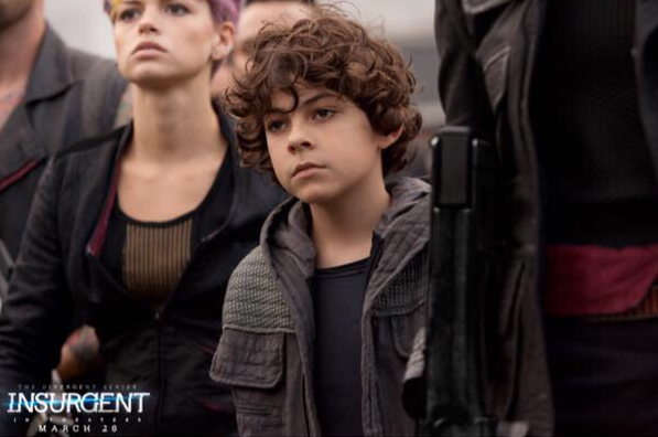 Emjay Anthony as Hector in 'Insurgent'