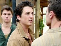 Tris, Four, Peter and Caleb Seek Refuge in Amity in New 'Insurgent' Clip