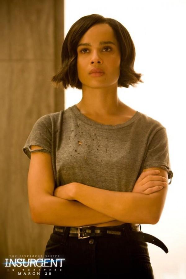 Zoe Kravitz as Christina in 'Insurgent'