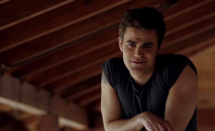 """Stefan & Caroline Get Flirty in 'The Vampire Diaries' Season 6, Episode 14: """"Stay"""" Clip"""
