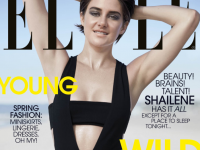 "Shailene Woodley in Elle's April Issue: ""I fall in love with people based on who they are"""