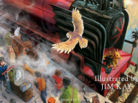 Cover for Illustrated Edition of Harry Potter and the Sorcerer's Stone Revealed
