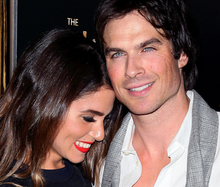 Ian Somerhalder and Nikki Reed Interview from the Noble Awards
