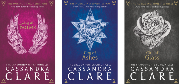 'The Mortal Instruments' New UK Covers Revealed