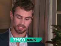 Theo James, Ansel Elgort, Jai Courtney and Octavia Spencer Interviewed by ET