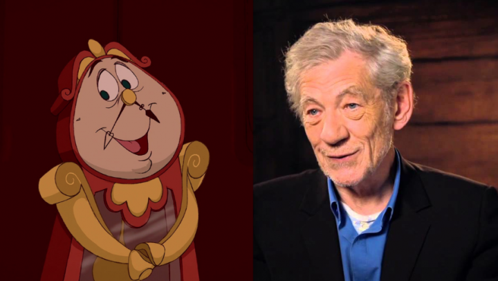 Ian McKellen Will Play Cogsworth in Live-Action 'Beauty and the Beast' Movie