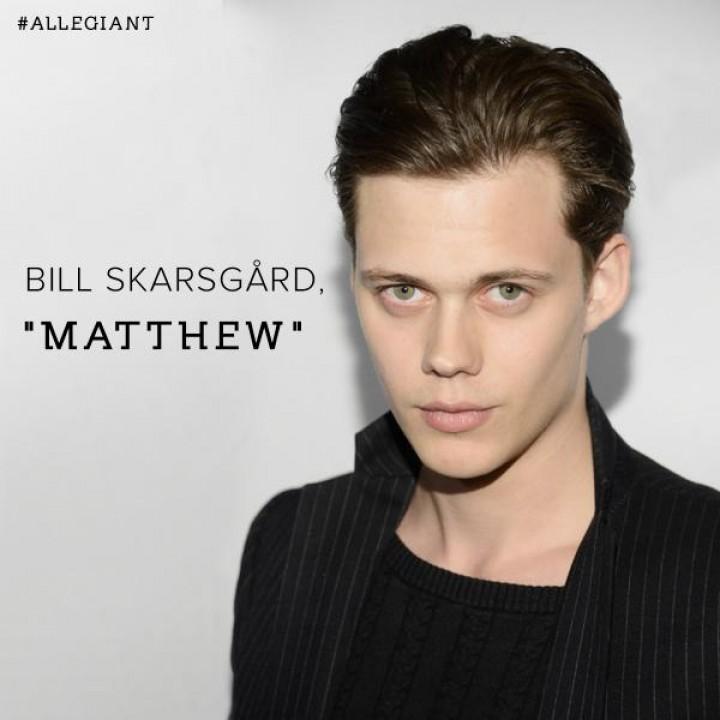"""Bill Skarsgård Has Joined the """"Allegiant Part 1"""" Cast as Matthew!"""