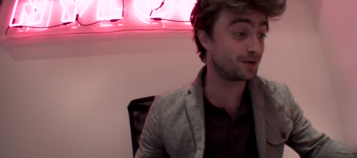 WATCH: Daniel Radcliffe is a NYLON Magazine Receptionist for 1 Hour!
