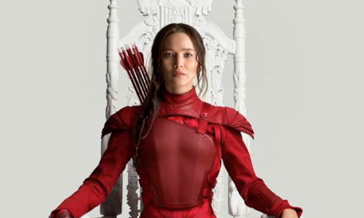 Katniss Wears Red in NEW 'Mockingjay Part 2' Poster