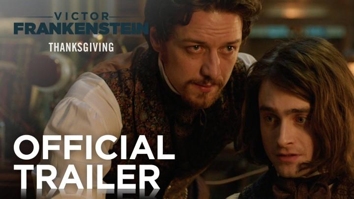 Watch Daniel Radcliffe in the Official 'Victor Frankenstein' Trailer!