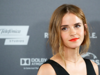 Emma Watson Looked Gorgeous at the 'Regression' Photocall in Madrid