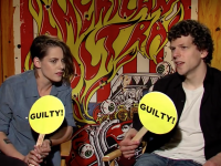 "Kristen Stewart & Jesse Eisenberg Play ""Never Have I Ever"" Game!"