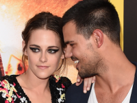 Kristen Stewart & Taylor Lautner Reunited at the 'American Ultra' Premiere!