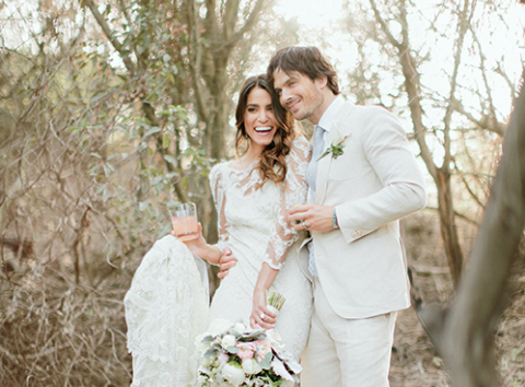 New Pics From Ian Somerhalder and Nikki Reed's Wedding!
