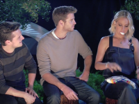 'Hunger Games' Stars Get Cozy Around a Campfire With MTV!