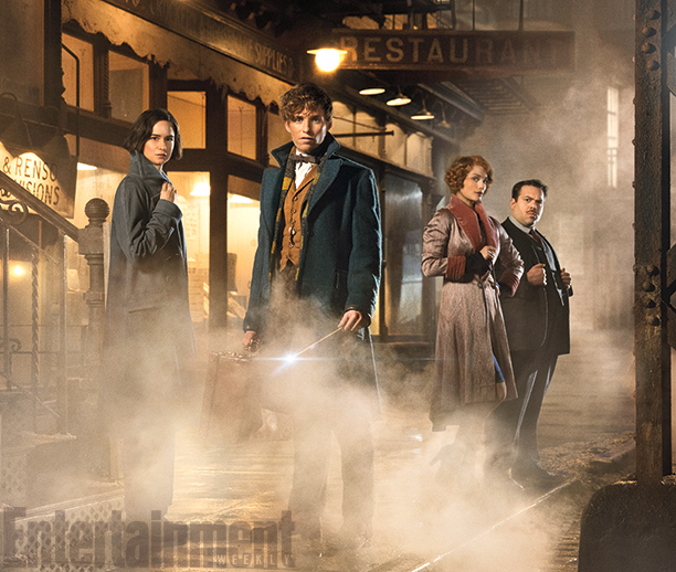Fantastic Beasts stills